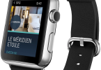 Apple Smartwatch with SPG hotel app