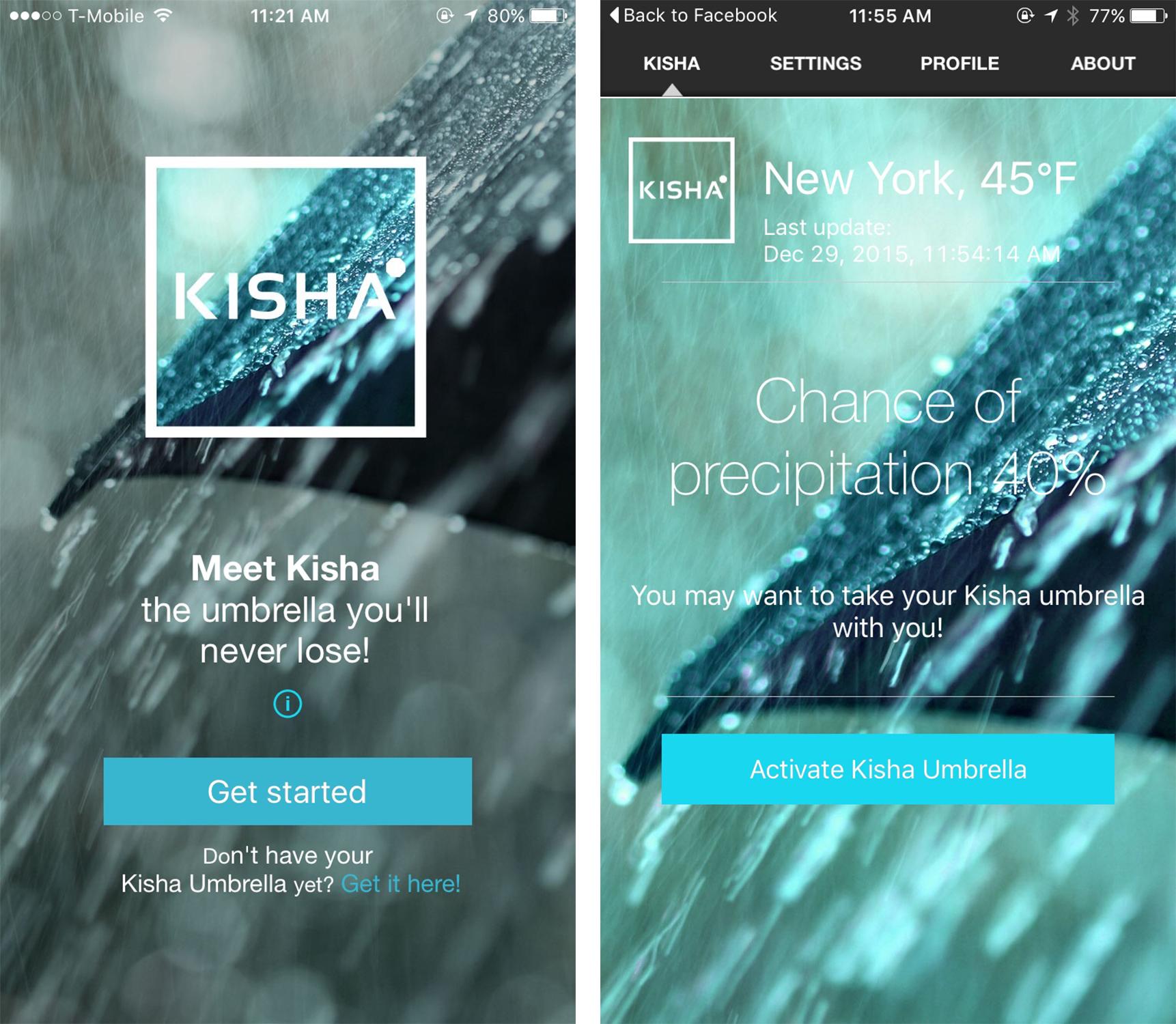 Kisha app